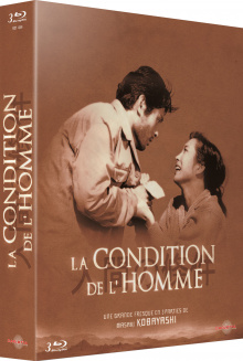 La Condition de l'homme - Jaquette Blu-ray recto 3D