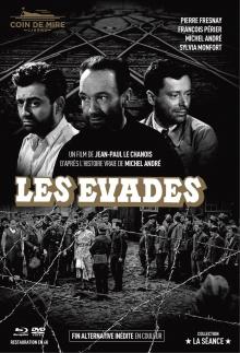 Les Evadés - Jaquette Blu-ray