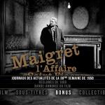 Maigret et l'affaire Saint-Fiacre - Capture menu Blu-ray Coin de Mire Cinéma