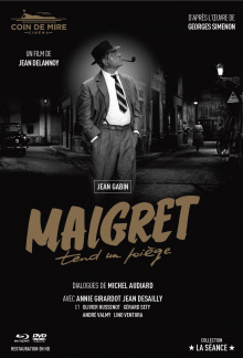 Maigret tend un piège (1958) - Jaquette Blu-ray