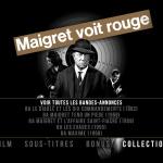Maigret voit rouge - Capture menu Blu-ray