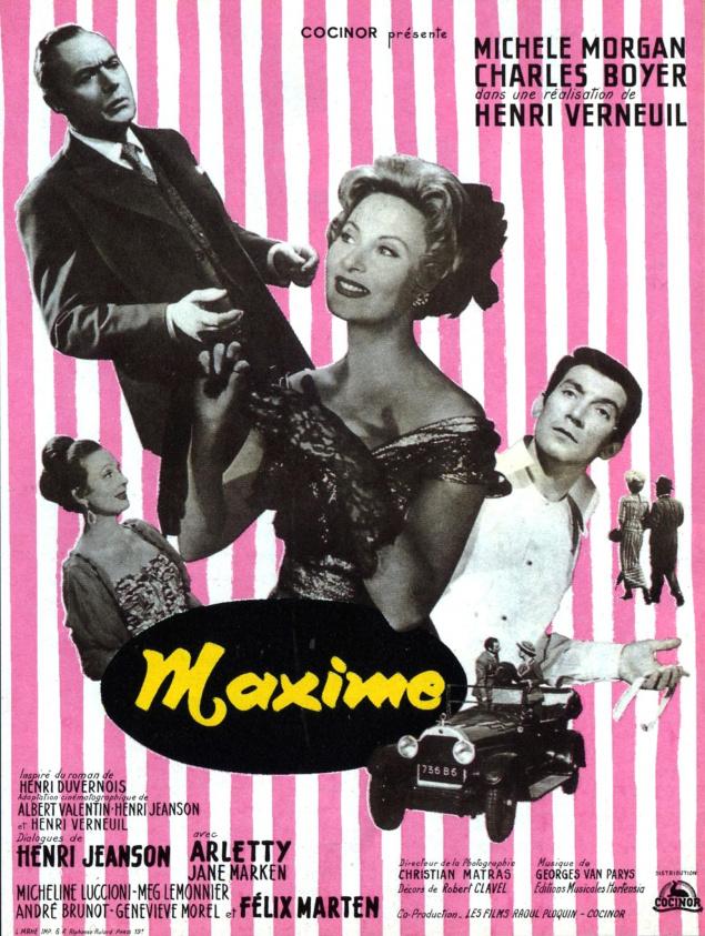 Maxime - Affiche
