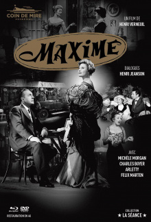 Maxime - Jaquette Blu-ray